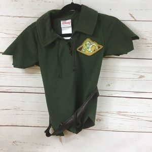 Boys Disney Peter Pan Costume Top